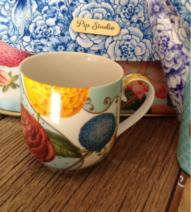 Pip Royal Flowers Mug Small